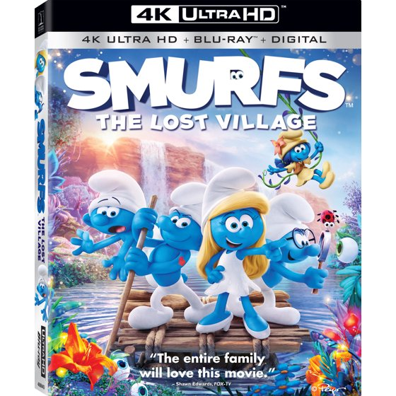 Smurfs: The Lost Village (4K Ultra HD + Blu-ray + Digital)