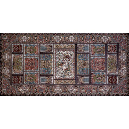 Astoria Grand Owensby Hand Look Persian Wool Red/Brown/Pink Area Rug