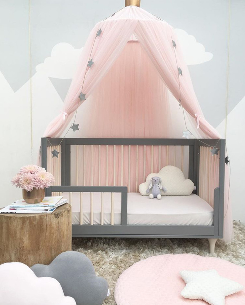 Mosquito Net, Outgeek Girls Princess Romantic Mosquito Netting Curtain Dome Bed  Canopy Anti Mosquito Net