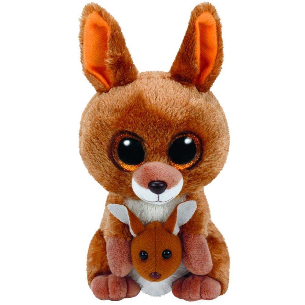 Kipper Kangaroo Beanie Boo Small 6 Inch Stuffed Animal By Ty