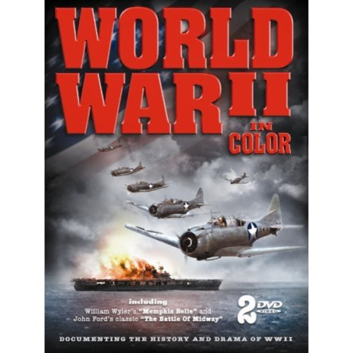Wwii In Color [dvd] [new Art/2discs Tin Box] (timeless Media Group)