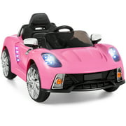 Best Choice Products 12V Ride On Car Kids W/ MP3 Electric Battery Power Remote Control RC Pink