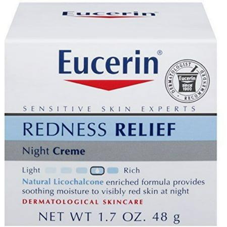 Eucerin Redness Relief, Night Creme 1.70 oz (Dermalogica Redness Relief)
