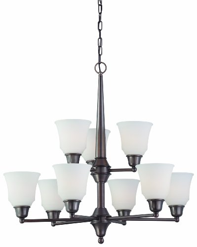 Thomas Lighting 190069715 Cresset Chandelier, Oiled Bronze by Thomas Lighting