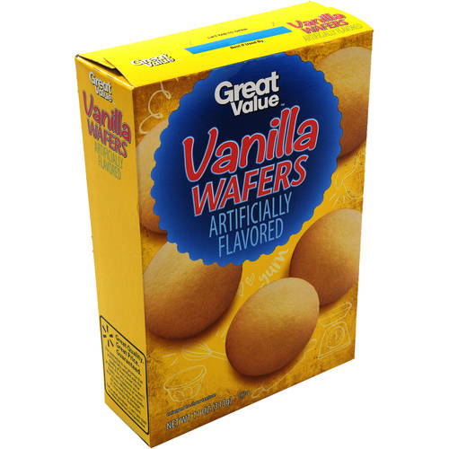 Great Value Vanilla Wafers, 11 oz