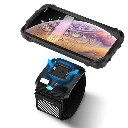 low priced 30237 2ea6f SUPCASE Quick Mount Phone Armband, Running Armband for iPhone X/XS Max/XR,  Galaxy Note 9/Note 8/S9/S8, Detachable Workout Sports Arm Band for Hiking  ...