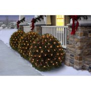 Holiday Time 16 Function Net Christmas Lights Clear, 150 Count