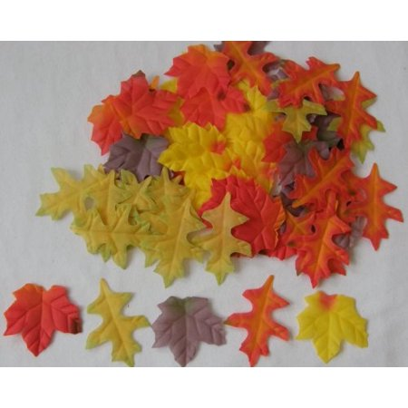 Mini Fall Maple Leaves Autumn Weddings, Invitation Leaves, Fall Table Accent, 90 - Fall Stationery