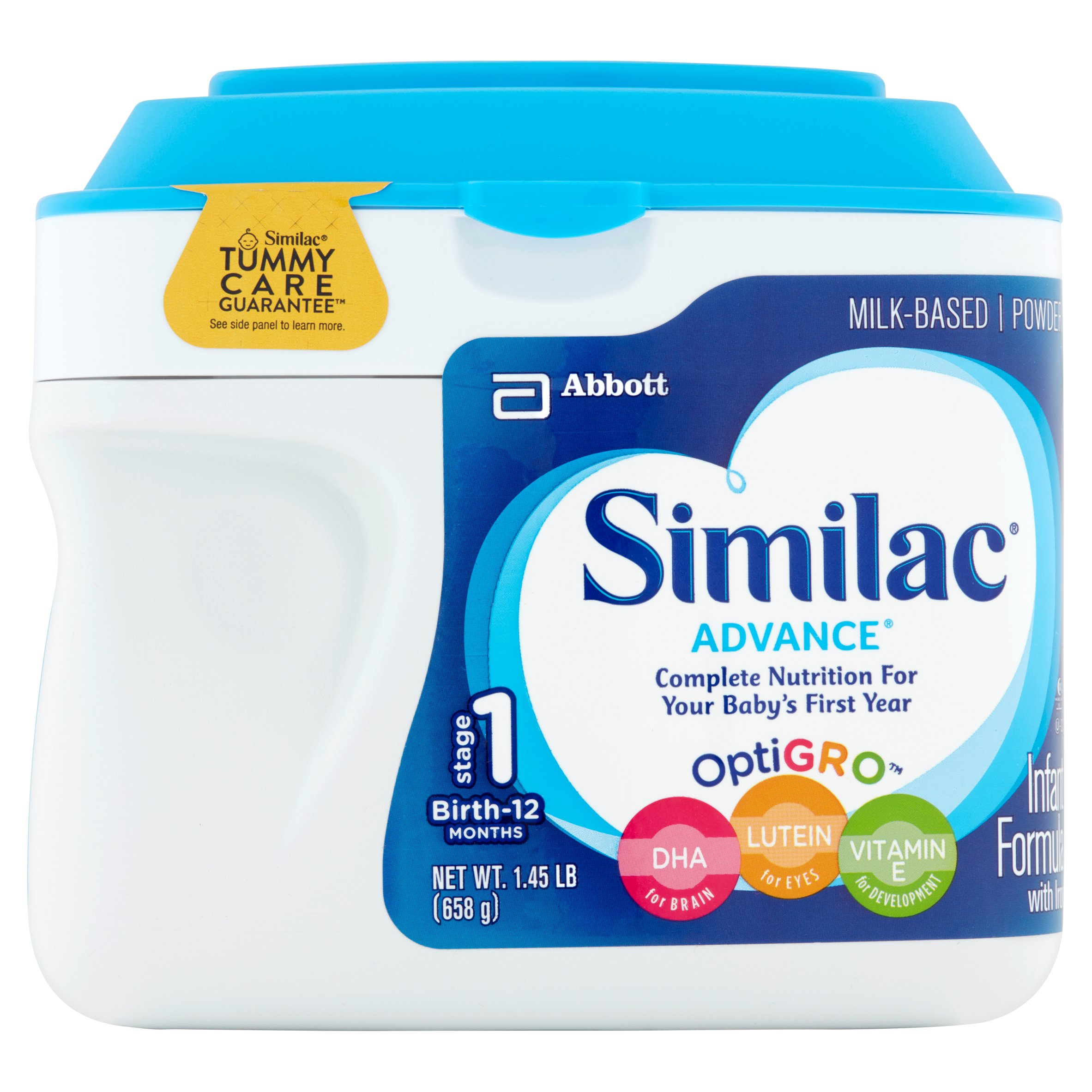 Similac Advance Infant Formula with Iron, Powder, 1.45 lb (Pack of 6) by Similac