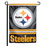 "Pittsburgh Steelers WinCraft 12"" x 18"" Double-Sided Garden Flag"