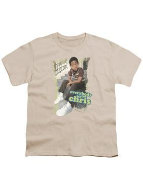 Ehc - Everybody Hates Chris - Youth Short Sleeve Shirt - Large