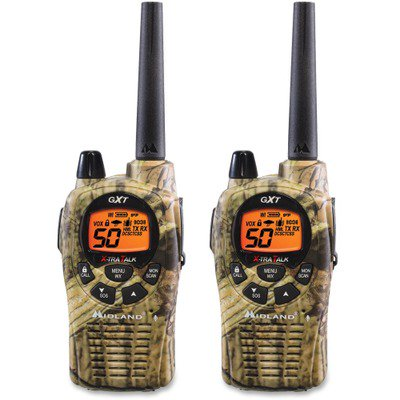 Midland GXT1050VP4 Two Way Radio MROGXT1050VP4 With 50 channels, these NOAA weather alert two-way radios give you maximum output power with Xtreme Range Technology in a rugged, weatherproof case. Get clear, crisp communication from 22 channels with 28 extra channels to choose from. With a range of up to 36 miles, they're perfect for most adventures. 285 privacy codes give you up to 6270 channel options to help you block other conversations. Backlit LCD is easy to read during the day or night. Radios have five animal call alerts for attracting turkeys, ducks, crows, cougars and wolves. Two-way radios also feature privacy codes, direct/group calling, NOAA weather radio/alert/scan, silent operation, whisper function, SOS siren and more.
