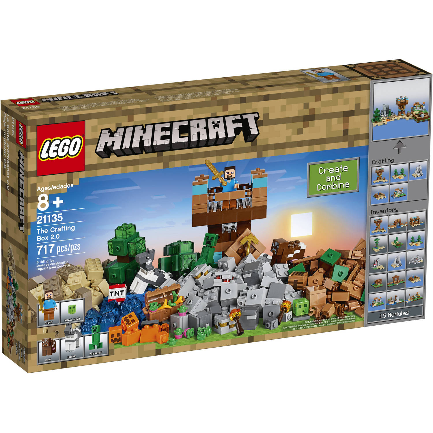 Lego Minecraft The Crafting Box 2.0 21135 by LEGO Systems, Inc.