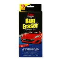 Stoner Car Care Bug Eraser Wipes