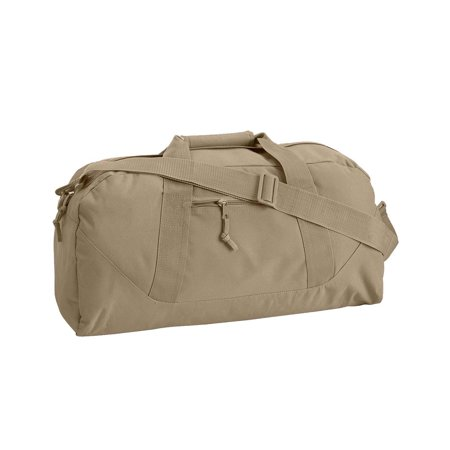 Liberty Bags 8806 Game Day Large Square Duffel - Khaki - One Size -  Walmart.com 2e9ae8a90d50c