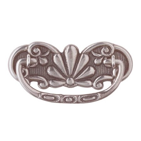 Cabinet Pull Pewter Solid Brass Scalloped Bail | Renovator's Supply Solid Pewter Pull