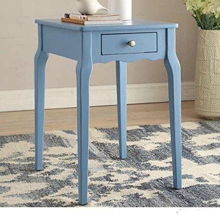 Modern Country Style Wood Accent Nightstand End Sofa Side Table Rectangle Sha. Country Style Solid Wood