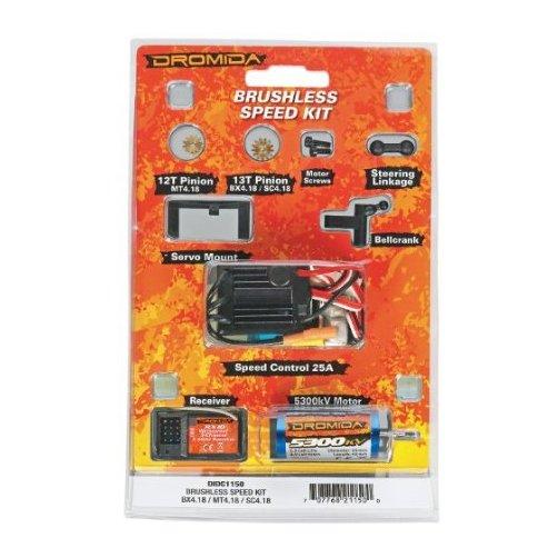 Dromida Brushless BX MT SC 4.18 Speed Kit Multi-Colored