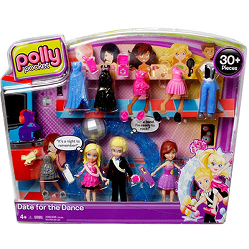 Polly Pocket Ultimate Fashion Build-Up Rick's Dance Pack Play Set