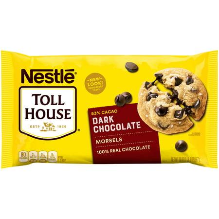 Nestle Toll House Dark Chocolate Chip Morsels 20-Oz Bag ()