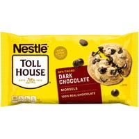 Nestle Toll House Dark Chocolate Chip Morsels 20 Oz. Bag
