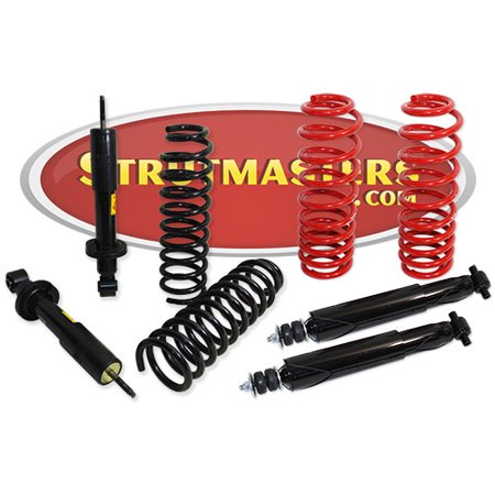 - Strutmasters 4 Wheel Air Suspension Conversion Kit with Rear Shocks & Front Struts for a 2003-2011 Mercury Grand Marquis, Ford Crown Victoria, and Lincoln Town Car