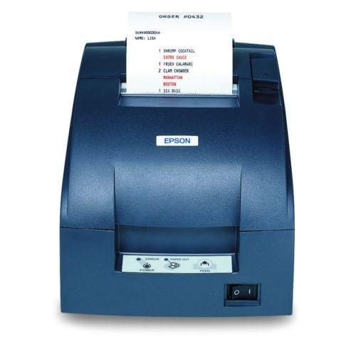 Epson,Tm-U220b,Dot Matrix Receipt Printer,Ethernet (E03),Epson Dark Gray,Autocut
