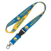 Golden State Warriors WinCraft Wordmark Lanyard with Detachable Buckle - No Size