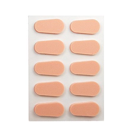 Peach Nose Pads for Eyeglasses](Magnifying Eyeglasses For Crafts)