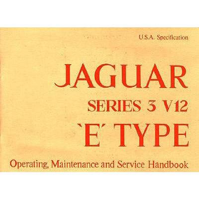 Jaguar E-Type V12 Series 3 (Us