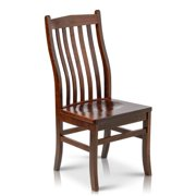 Somette  Solid Maple Wood Dining Chairs (Set of 2)