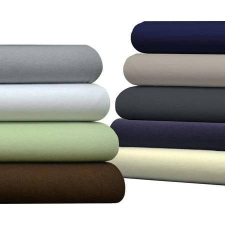 Brielle Pure Cotton Jersey Knit T-Shirt Sheet Set