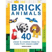 Brick Builds: Brick Animals: 40 Clever & Creative Ideas to Make from Classic Lego (Paperback)