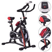 Costway Exercise Bicycle Indoor Bike Cycling Cardio Adjustable Gym Workout Fitness Home by Costway