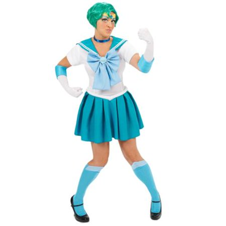 Sailor Moon Mercury Sexy Adult Costume Small