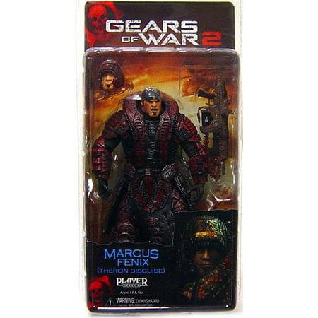 Neca Gears Of War (NECA Gears of War Series 4 Marcus Fenix Action Figure [Theron Guard Disguise] )