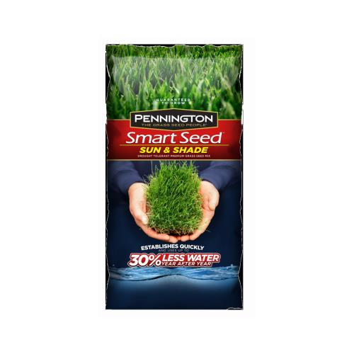 Pennington 100526659 3-Lb. Smart Seed Sun/Shade North Mix