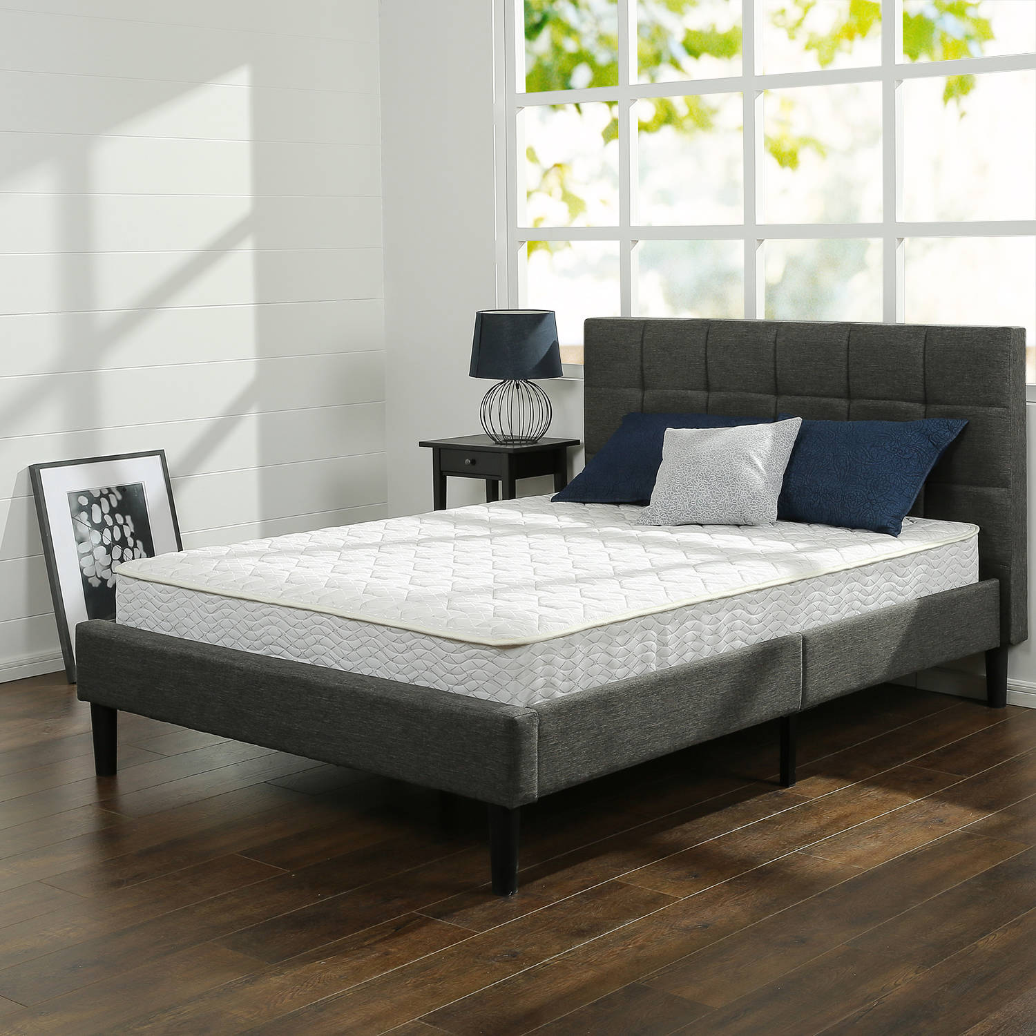"Slumber 1 8"" Comfort Spring Mattress, Multiple Sizes"