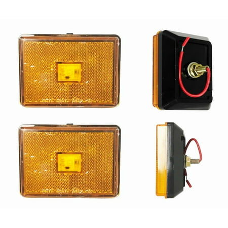 Pole Marker Light ((2) Amber 2