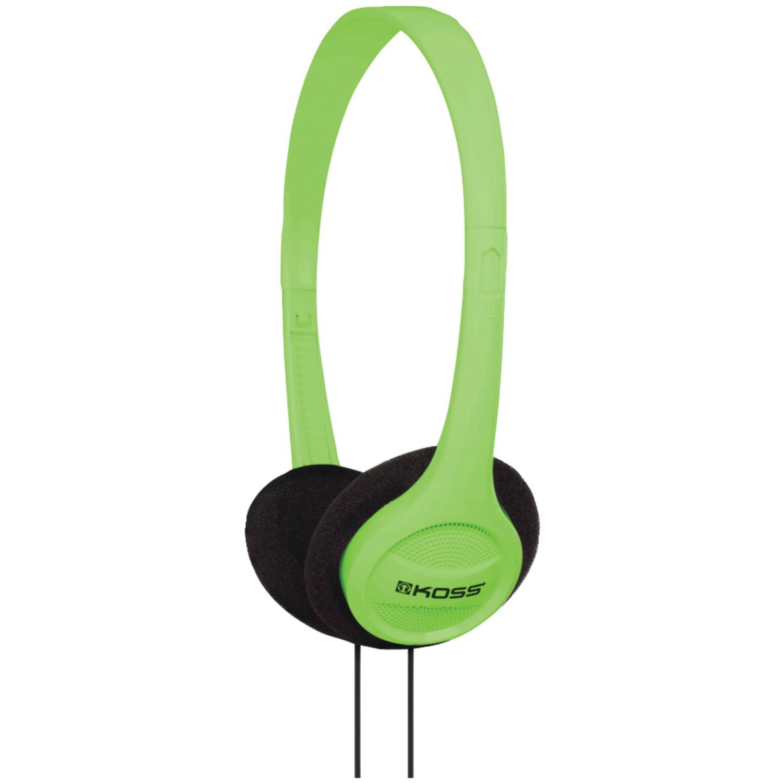 50 Pack Koss 190478 KPH7 On-Ear Headphones (Green) by Koss