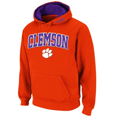 Clemson Tigers Stadium Athletic Arch & Logo Pullover Hoodie - Orange
