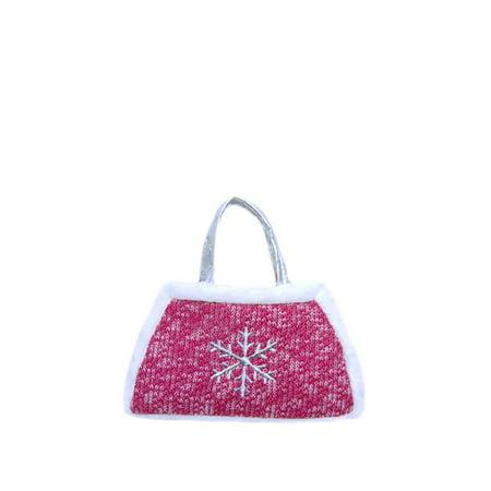 Snowflake toddler purse