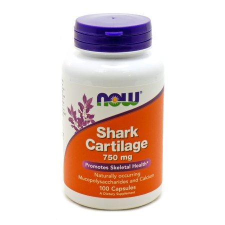 Shark Cartilage 750 mg Freeze Dried by Now Foods 100 Capsules