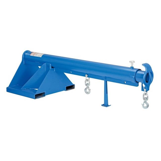 Vestil LM-1T-6-24 Telescoping Lift Boom 24 in. Wide Forks, 6000 lbs by Vestil