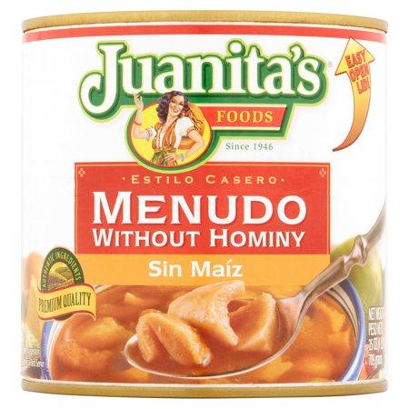 Juanitas Foods Menudo Without Hominy  25 Oz