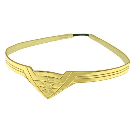 DC Comics Wonder Woman Gold Tiara Movie Superhero Costume Cosplay Stretch Band - Comic Cosplay