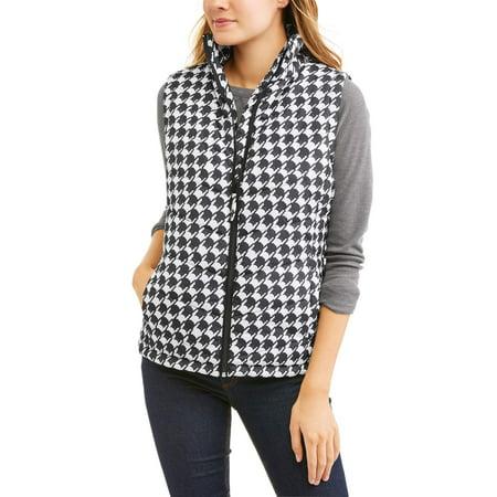 JASON MAXWELL Women's Classic Puffer Vest - Gangster Vest