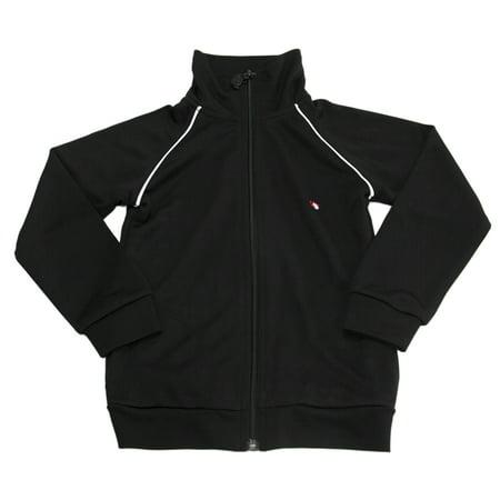 Appaman Big Boys' Zip Up Track Jacket Sz 5 Black](Appaman Clothing)