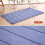 Jeobest 1pc Memory Foam Bathroom Bath Mat / Shower Mat Carpet Water Absorbent Non Slip Mat MZ ()