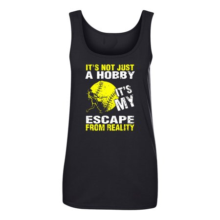Softball Is My Escape Womens Tank